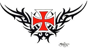 Maltese Cross tattoo