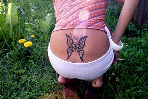 butterfly tattoo 4