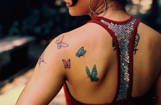 butterfly tattoo 5