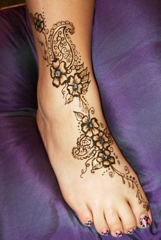 Foot Tatoos on Wonderful Foot Tattoos In 2011   Tattoo Design Secret