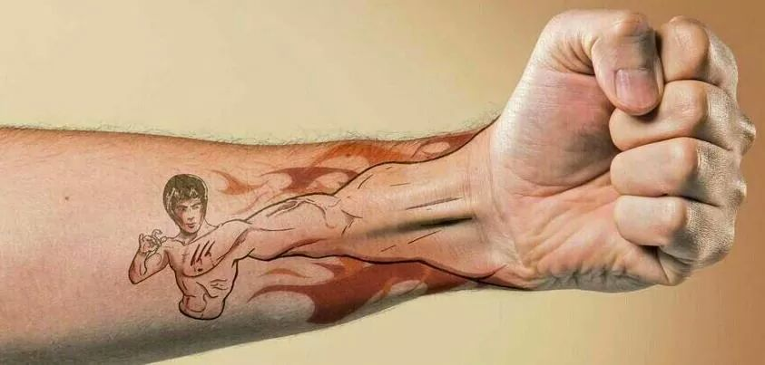 cool fist tattoo