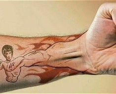 fist tattoo