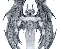devil tattoo