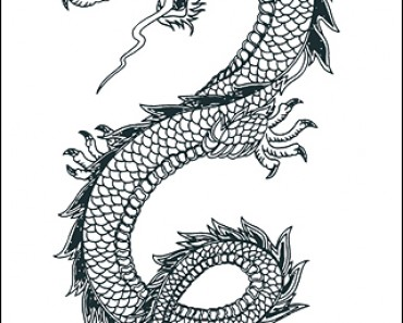 tribal dragon tattoos