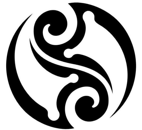 Reflections of a ying yang skull tattoo - Tatouage ying yang ...