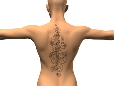girl back tattoo designs