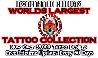 insane tattoo collection